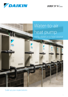 209 - Water to air heat pumps product profile