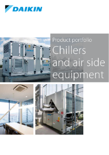 401B - Chillers and air side equipment_Product portfolio